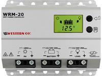 Western Co. WRM20 Solar laadregelaar MPPT 12 V, 24 V 20 A