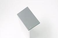 argenta Proslide set eindkappen 40mm tbv. Wandmontage - Aluminium