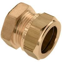 bonfix 82494 Knel-/eindkoppeling - Messing - 12mm