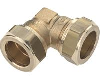 bonfix 82520 Haakse koppeling - Messing - 15x15mm