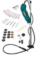 VONROC Roterende Multitool 160W- flexibele as - Incl. 40-delige accessoire set