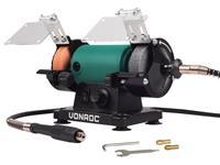 VONROC Tafelslijpmachine - Multitool   150W - 75mm met flexibele as