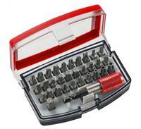 kwb 49118490 32-delige Bitset in casette inclusief riemclip