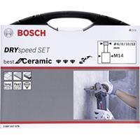Bosch Accessories Dry Speed 2607017579 Diamantboorset droog 4-delig 4 onderdelen