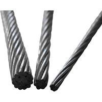 toolcraft Staaldraad (Ø) 4 mm per meter  13211100400 Grijs