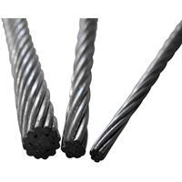 toolcraft Staaldraad (Ø) 3 mm per meter  13211100300 Grijs