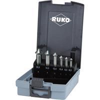 ruko ULTIMATECUT 102790RO Kegelverzinkboorset 6-delig 6.3 mm, 8.3 mm, 10.4 mm, 12.4 mm, 16.5 mm, 20.5 mm HSS 1 stuk(s)