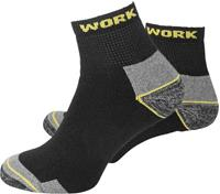 l+d WORK 25773-39-42 Sokken Kort Maat: 39-42 3 paar