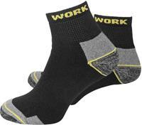 l+d WORK 25773-43-46 Sokken Kort Maat: 43-46 3 paar