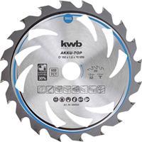 kwb 583354 Hardmetaal-cirkelzaagblad 150 x 16 x 1.0 mm Aantal tanden: 20 1 stuk(s)