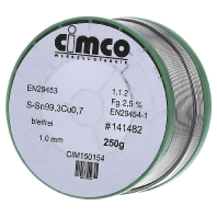 Cimco 15 0154 - Soldering wire 1mm 15 0154