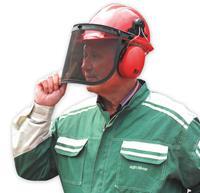 XerVex Helm met gezichts- en gehoorbescherming