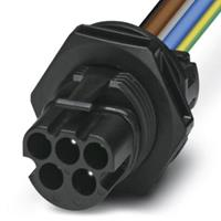 phoenixcontact Phoenix Contact PRC 5-FT25-MC2,5-150 Apparaatconnector achterwand Zwart, Blauw, Grijs, Bruin, Groen, Geel Inhoud: 10 stuk(s)
