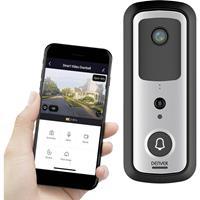 denver 118131200020 Deurintercom-module voor Video-deurintercom WiFi Wit, Zwart