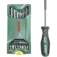boschaccessories Bosch Accessories 2607017654 Mini X-Line 16-delig Boor en bit assortiment