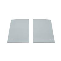 Argenta Proslide set eindkappen 40mm tbv. Plafondmontage - Aluminium