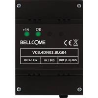 Bellcome VCB.4DN03.BLG04 Verdelerbox voor Deurintercomaccessoire Kabelgebonden 1 stuks Donkergrijs