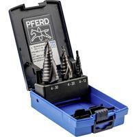 PFERD 25201047 HSS Getrapteboorset 3-delig 4 - 12 mm, 4 - 20 mm, 4 - 30 mm 1 stuk(s)