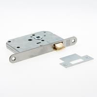 Nemef Loopslot type 1255/17-50 DIN rechts RVS voorplaat