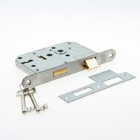 Nemef Klavier dag- en nachtslot deurslot type 1266/17-50 sl56 DIN rechts