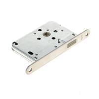 Algemeen Loopslot met magnetisch schoot, rvs voorplaat, doornmaat 50mm, exclusief sluitkom/sluitplaat