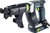 Festool DWC 18-2500 C3,1-Plus 18V Li-Ion accu bandschroefmachine set (2x 3,1Ah) in systainer - 18Nm - 55mm - koolborstelloos