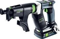Festool DWC 18-4500 HPC4,0 I-Plus 18V Li-Ion bandschroefmachine set (2x 4,0Ah) in systainer - 14Nm - koolborstelloos