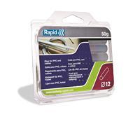 Rapid Lijmpatronen PVC/Kabel, Transparant Ø12mm 50g