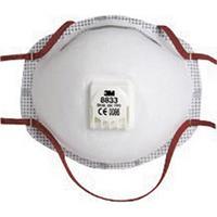 3M 8833 Fijnstofmasker met ventiel FFP3 10 stuk(s) DIN EN 149:2001