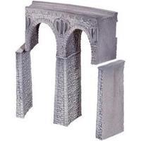 NOCH 58664 H0 viaduct van natuursteen, gebogen (b x h) 44 mm x 245 mm