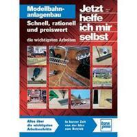 TRANSPRESS Modellbahnanlagenbau - Schnell, rationell und preiswert - die wichtigsten Arbeiten Ulrich Lieb Aantal pagina's: 144 bladzijden (Duitstalig)