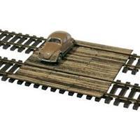 MBZ 80213 H0 spoorwegovergang met balken