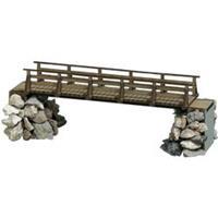 Busch 1497 H0 houtenbrug (l x b x h) 113 x 27 x 45 mm