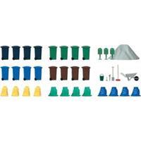 Busch 1136 H0 container-set