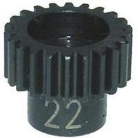 Reely EL0221S Stalen motorrondsel 22 tanden module 48DP
