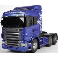 Tamiya Scania R620 6x4 (blauw) 1:14 Elektro RC truck Bouwpakket