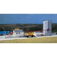 Auhagen 12 264 H0, TT Benzineoverslagplaats met grote opslagtank