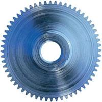 Staal Recht tandwiel Reely Soort module: 0.5 Boordiameter: 6 mm Aantal tanden: 6
