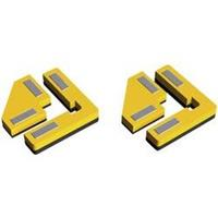 Proses PPR-SS-02 Snap & Glue rechte hoek 2 houders met 8 magneten