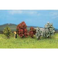 NOCH 25420 5 struiken, bloeiend Kleur:Bloeiend