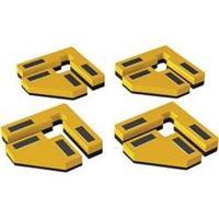 Proses PPR-SS-01 Snap & Glue rechte hoek 4 houders met 16 magneten