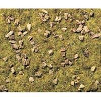 NOCH 8360 Strooigras bergweide met stenen