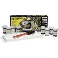 Woodland Scenics WC1215 Basisverfset (Earth Color Kit)