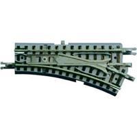 Z Rokuhan rails (met ballastbed) 7297023 Wissel, rechts 55 mm