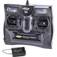 Carson Modellsport Reflex Stick II 2,4 GHz 6-kanaals RC handzender 2,4 GHz Aantal kanalen: 6