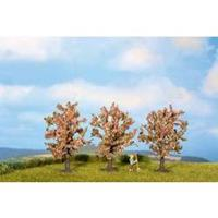 NOCH 25112 Set van 3 fruitbomen, roze bloeiend, 45 mm Hoogte (min.):80 mm Hoogte (max.):80 mm