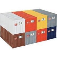 """Kibri 10924 H0 20""""-containers (8 stuks)"""