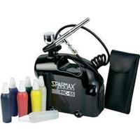 Sparmax Airbrush-set met compressor