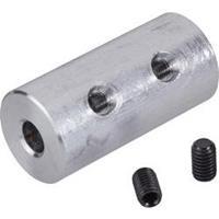Reely Navy-Direct-koppeling van aluminium 12 x 25 mm