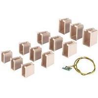 Viessmann 6005 12 lichtboxen + 1 huisverlichtingprintplaat